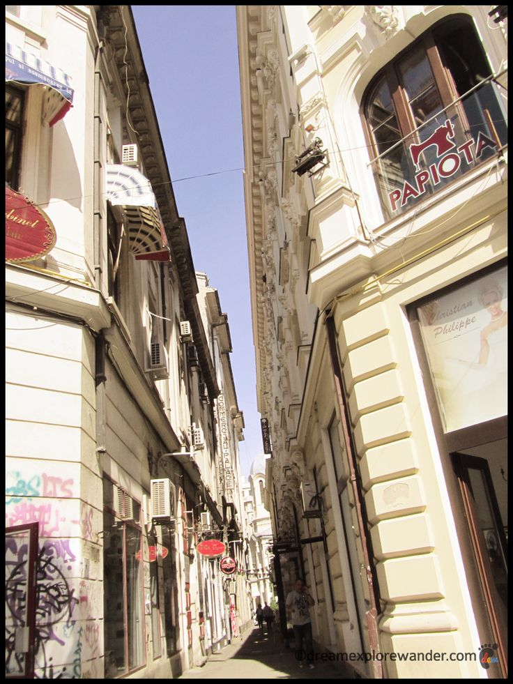 Bucharest's Old City Aisle