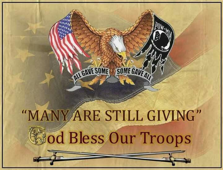 God bless our troops