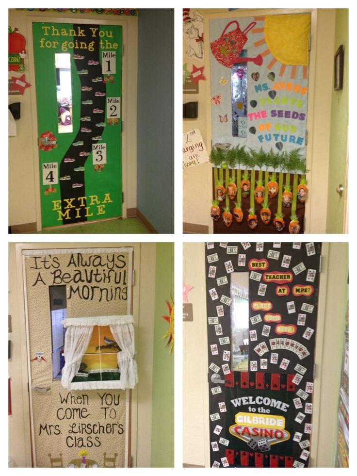 Teacher Appreciation Week- Door Decor
