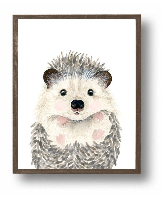 Woodland Nursery Prints Woodland Baby Shower Decor Nursery Prints