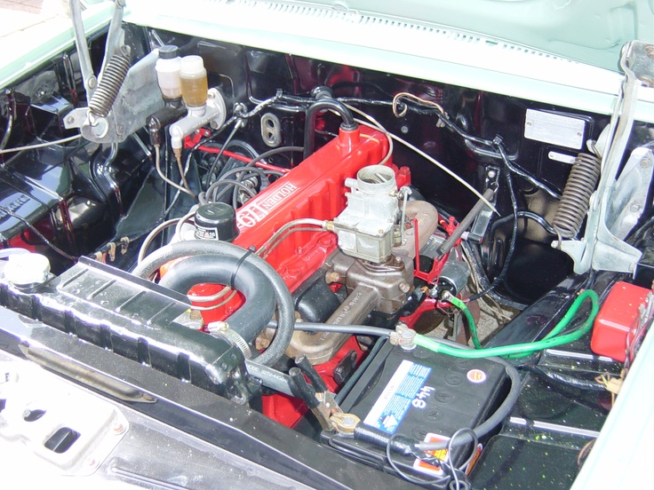 1964 EH Holden (AUS) Engine bay rebuild by Xpert ...
