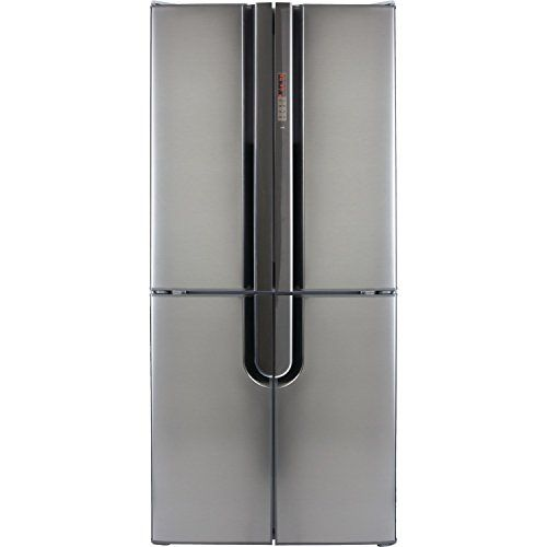 CDA PC88SS Freestanding Four Door Fridge Freezer Silver £799 slim