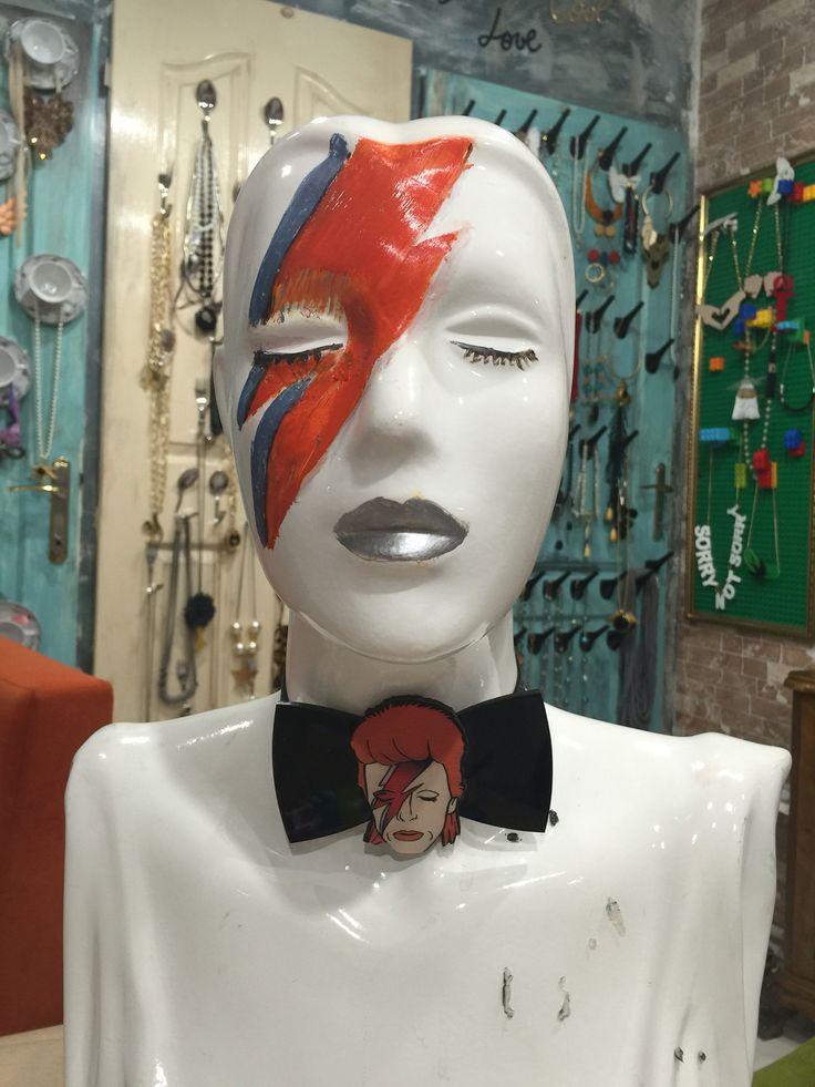 RIP David Bowie bowtie