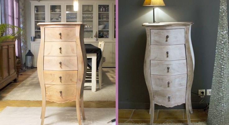 Bricolage en vidéo : comment bien céruser un meuble ? via Prima.fr