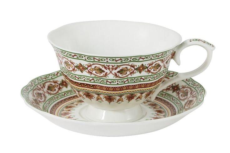 Чашка с блюдцем из костяного фарфора «Надин»      Бренд: Colombo (Китай);   Страна производства: Китай;   Материал: костяной фарфор;   Коллекция: Надин;   Объем чашки: 250 мл;          #bonechine #chine #diningset #teaset #костяной #фарфор #обеденный #сервиз #посуда  #обеденныйсервиз #чайныйсервиз #чайный  #чашка #кружка #набор #сервировка #cup #mug #set #serving #tea #чай