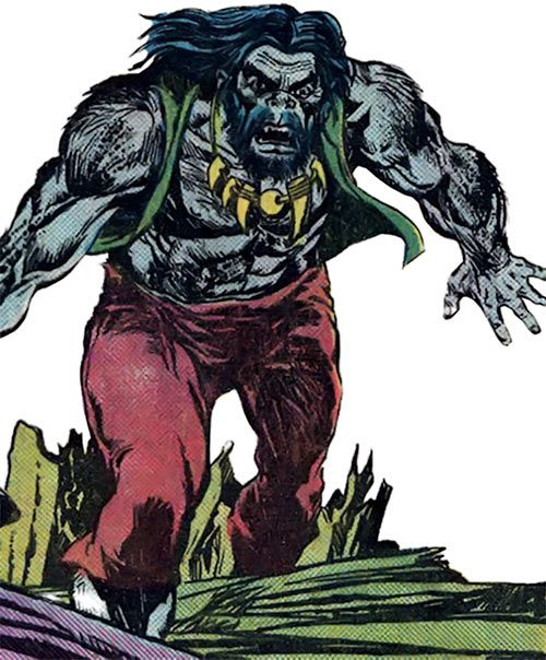 The Brute (Atlas / Seaboard comics) with his hippie look. From http://www.writeups.org/brute-atlas-seaboard-comics/