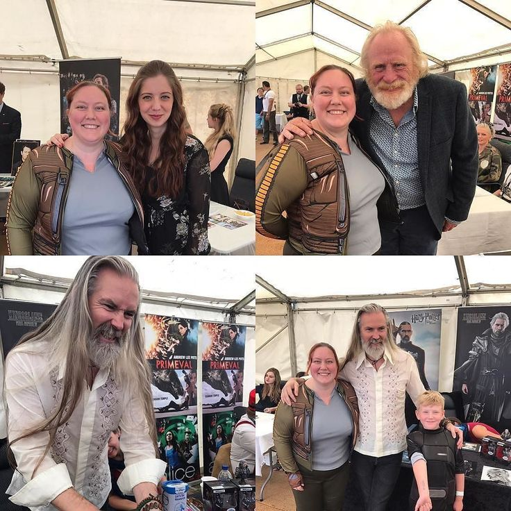 #Repost @emmaclaireleonard  Fab day at the Sci Fi convention meeting lovely people- Jon Campling was the nicest Deatheater imaginable! James Cosmo also nice and Sarah Louise Madison as well. #got #harrypotter #weepingangel #doctorwho #deatheater