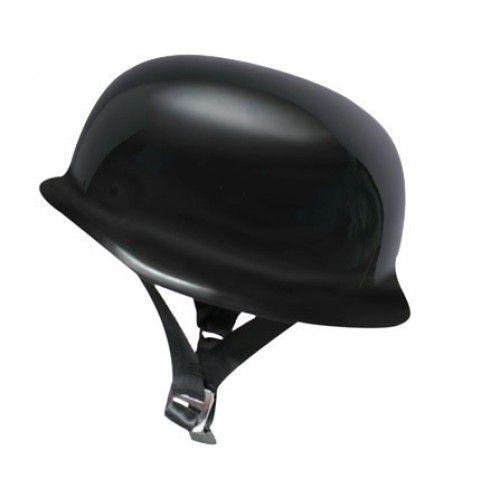 Scorpion Panzer Open Face Gloss Black Motorcycle Helmet