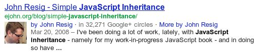 Info about claiming Google Authorship