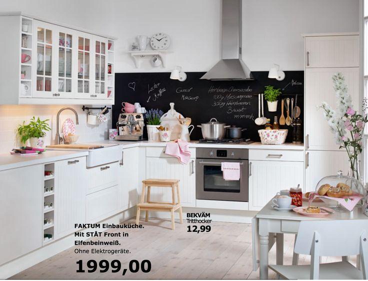 Mer enn 25 bra ideer om Küche faktum på Pinterest Ikea faktum - kleine küchenzeile mit elektrogeräten