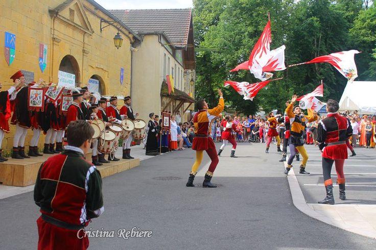Très belle fête médiévale à Nozeroy