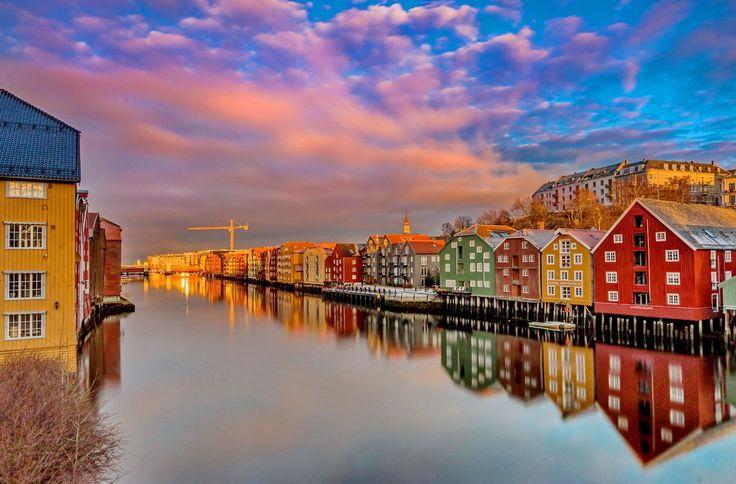 Over the Gamle bybro Trondheim by Aziz Nasuti on 500px