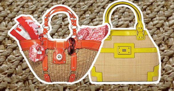 Designer Straw Handbags: How to repair a straw purse or straw handbag using common household products.
