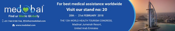 We welcome you to our stall number 20, at the 12th WHTC Dubai, UAE on 20th - 21st February 2018.  Medobal is a global Healthcare assistance company currently based in 5 countries, hosting clients from all over the world. Our activities are spread in Healthcare Tourism, Healthcare Marketing, Healthcare Technology, Healthcare Management and Healthcare Event.  #Medobal #MedicalTourism #HealthcareTourism #HealthcareManagement #HealthcareEvent #HealthcareTechnology #HealthcareMarketing #Dubai…