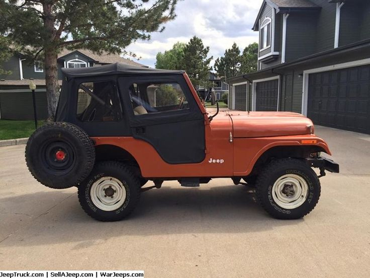 Jeeps For Sale and Jeep Parts For Sale - 1976 Jeep CJ5 For Sale By Original Owner