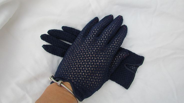 Womens Dress Gloves Crochet Lace Gloves - Ladies Gloves Mesh Net ...