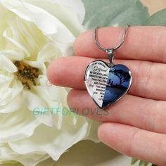 To my girlfriend: Gift Ideas for girlfriend girlfriend necklace to my girlfriend necklace beautiful girlfriend necklace best gifts for girlfriend birt…