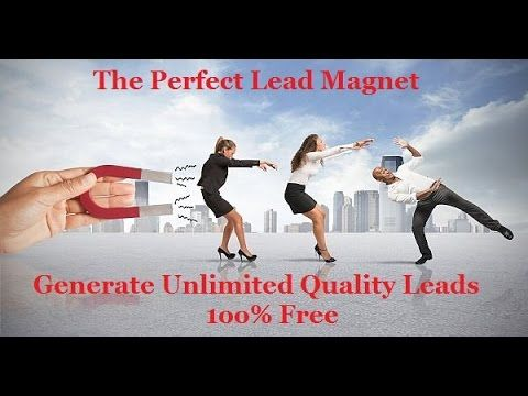 I Generate Free Leads on Autopilot & You Can Too!  Claim your Free Lead System here ==> https://www.youtube.com/watch?v=qGpMvEHLJvc&index=1&list=LL_xB5ObDveNQwh3z6P0B-Jw