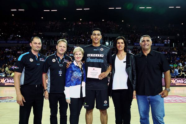 Having played his last game in a SKYCITY Breakers singlet on Friday night against Sydney Kings Tai Wynyard suited for one last time in a Breakers uniform on Saturday at Atlas Place.   Wynyard put together a commanding 33 points,…Read more ›