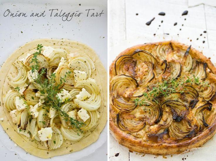 Onion and Taleggio Tart | Tasty times | Pinterest