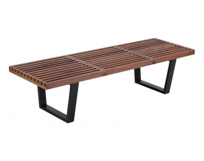 Walnut Wood Bench $252 WB 001 SS 48 Good Looking