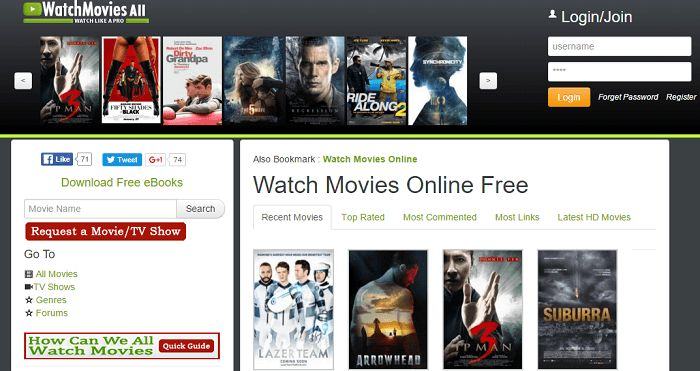 Top 20 Best Free Movie Websites To Watch Free Movies Online Without Downloading