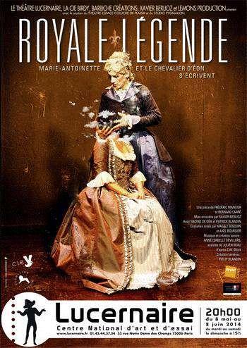 Royale Légende? Une pièce épistolaire entre Marie-Antoinette et le Chevalier d'Éon | Paris Show | Culture