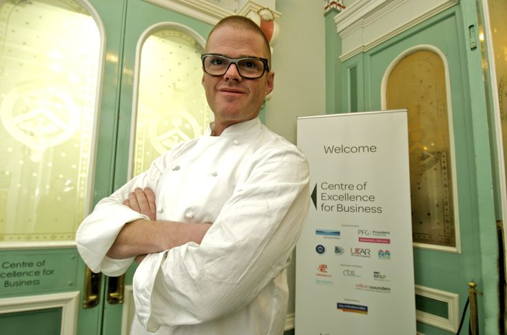 Heston Blumenthal popped in as part of his new Channel 4 series - Heston's Great British Food.
