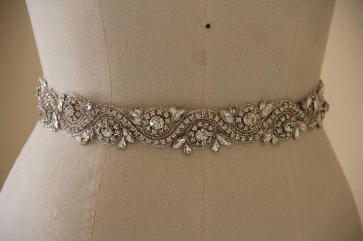 All around Wedding Belt, Bridal Belt, Wedding Accessory made of Crystal Rhinestones, sparkly Bridal Sash, Crystal Wedding Belt. by MonaAccessory on Etsy https://www.etsy.com/listing/205152273/all-around-wedding-belt-bridal-belt