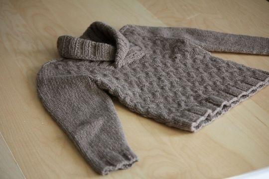 Pull enfant Gaston 1-12a - tricot - Tutoriels de tricot chez Makerist