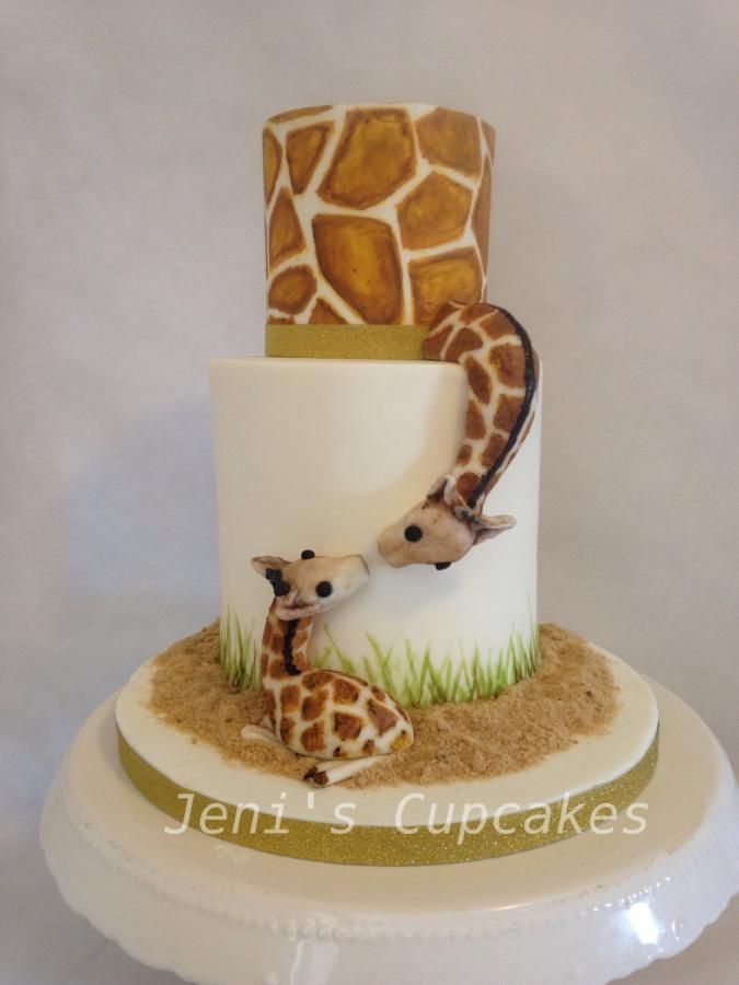 Cake Designs Giraffe : Best 25+ Giraffe cakes ideas on Pinterest Elephant and ...