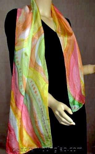 Silk Square Scarf - Bloom Pink Silk by VIDA VIDA OyJxjLQ4
