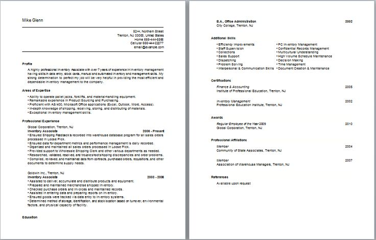 basic job description template - 25 best resume images on pinterest basic resume examples