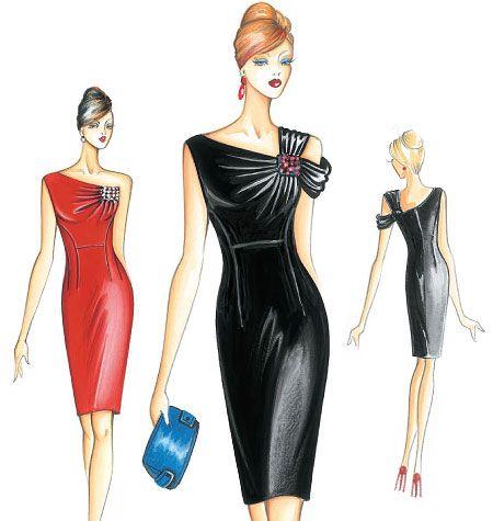 F3127 | Marfy Dress | Evening / Prom | McCall's Patterns