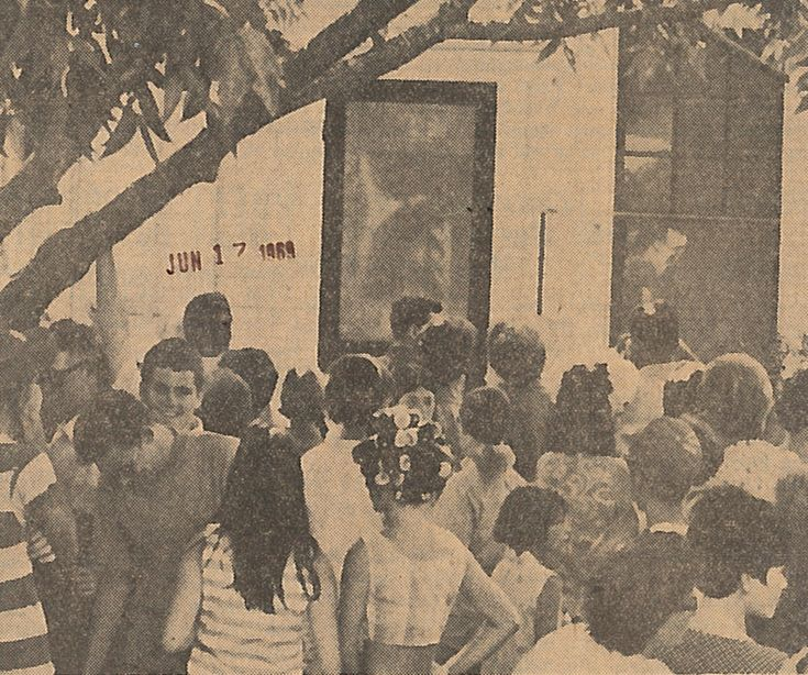 [...] almost 48 years ago, a reported image of Jesus on the house's screen door made the Mid-County dwelling a temporary tourist destination and incited a religious fervor that some Southeast Texans still remember.  Neighbors told neighbors, friends told friends, and rumors of the screen-door Jesus spread so quickly that five days later, The Enterprise reported that 1,000 people had visited Port Neches to see the door.  A fig tree about 10 yards to the left of the door inflated the…