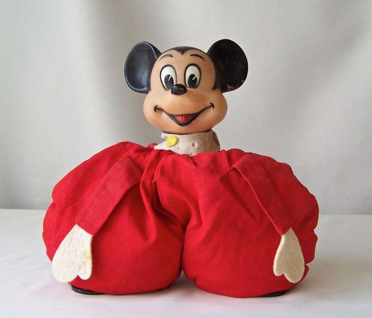 Vintage Mickey Bean Bag Toy Walt Disney Productions Mickey Red Bean Bag Toy Vintage 1980s by cynthiasattic on Etsy