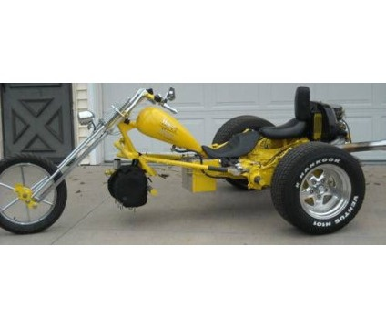 2011 Low-Rider Bobber / Chopper Motorcycle Vw Trike is a 2011 Motorcycles Trike in Richland MO