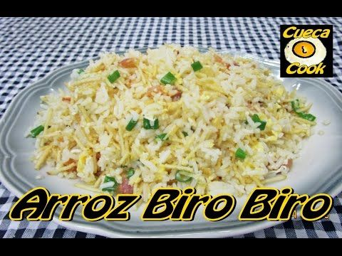 ARROZ BIRO BIRO com CozinhandoComNane :) - YouTube