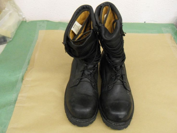 Men's BATES Uniform Footwear Boots Style Military Issue Black Size 11.5 US #Bates #Military
