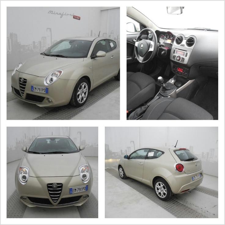 Alfa Romeo Mito 1.3 JTDM 95 CV Distinctive,  color Bianco Gardenia, a 12.900 €! #AlfaRomeo #Mito #Mirafiorioutlet #lanostravetrina #usato