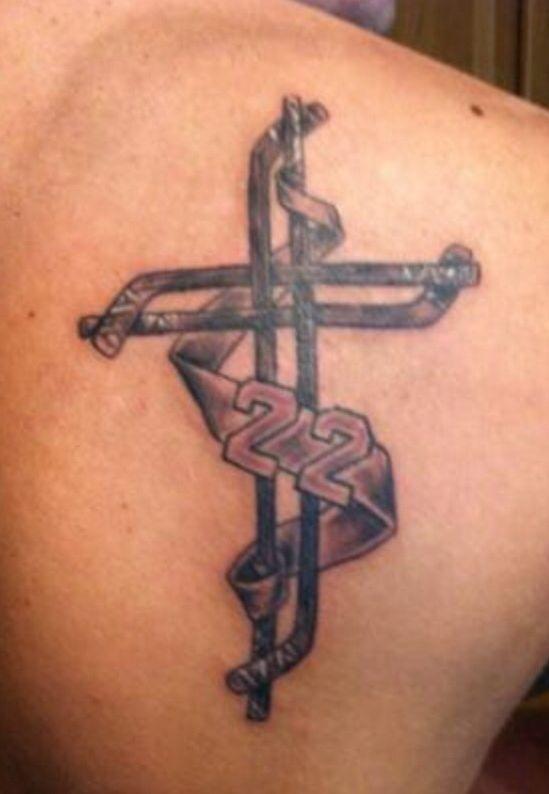 Hockey tattoo                                                                                                                                                                                 More