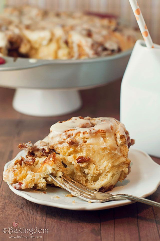 Easy Maple Pecan Cinnamon Rolls - my these look so delicious!: Cake, Cinnamon Rolls Recipes, Maple Ice, Maple Pecans Cinnamon Rol, Yummy Food, Easy Maple, Breads, Pecans Cinnamon Rolls, Breakfast Meals