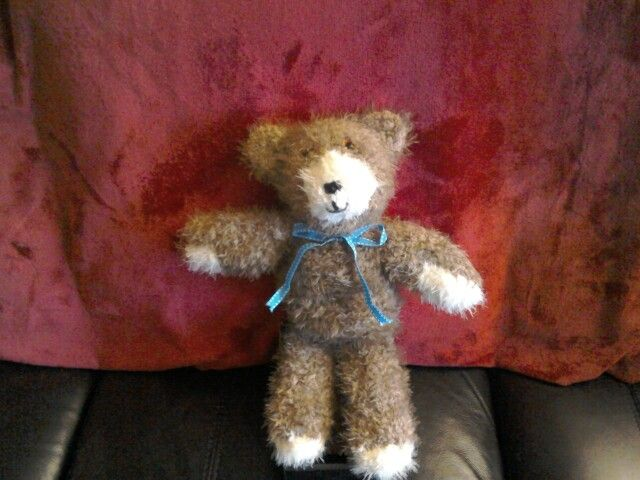 Little brown bear knitted in sirdar touch really soft