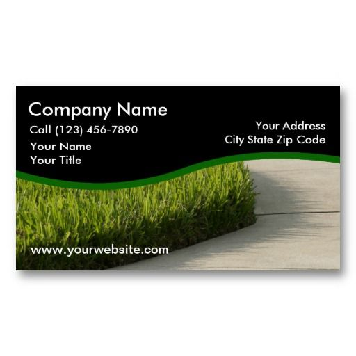 The 22 best lawn service business cards images on pinterest landscaping business cards reheart Choice Image