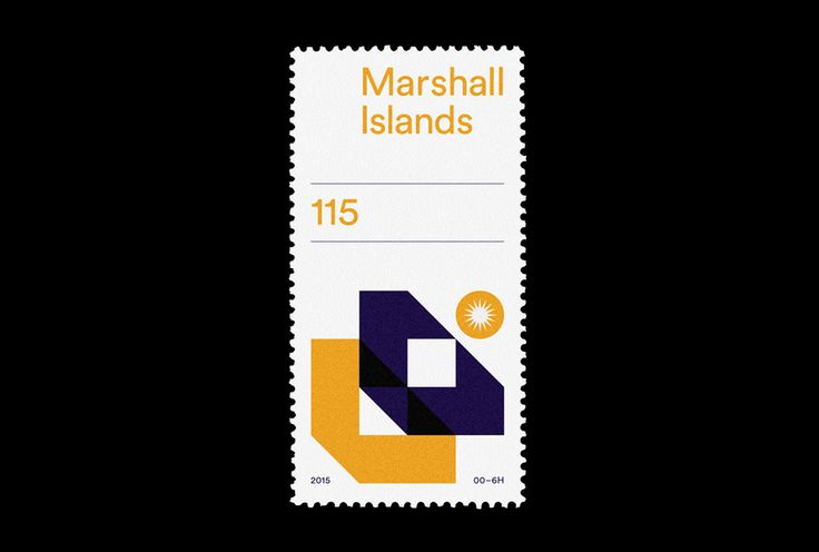 A ongoing design series that combines my love of design a stamps.