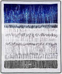 Lavebdar Landscape by Pauline Burbidge