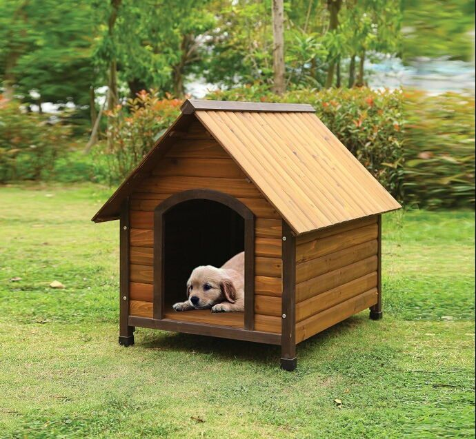 Acme 98206 Woody Ii Country Design Pet Dog House With Wood