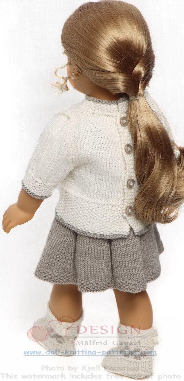 Modele tricot pour poupee                                                                                                                                                      Plus