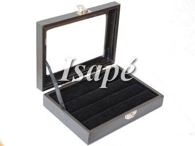 Ringendisplay klein met deksel, ideaal voor het opbergen van je ringen. Ringen opbergen en presenteren.