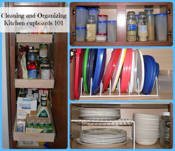 1000+ Ideas About Organizing Kitchen Cabinets On Pinterest